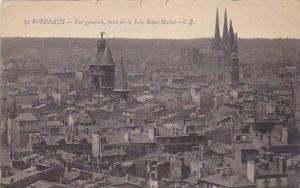Vue Generale, Prise De La Tour Sainte-Michel, Bordeaux (Gironde), France, 190...