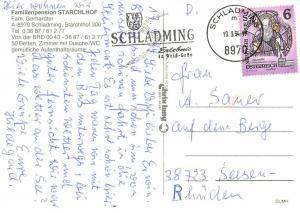 Schladming Familienpension Strachlhof Gasthaus Hotel