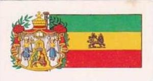 Brooke Bond Tea Vintage Trade Card Flags &  Emblkems Of The World No 48 Et...