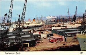 England   Southampton Docks