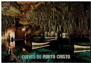 Postcard - Cuevas De Porto Cristo The Inside Of the Caves Mallorca Espana Spain