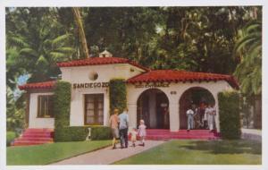 San Diego Zoo California CA Animal Color Series Unused Vintage Postcard D32