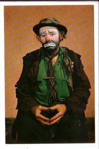 Emmett Kelly as Weary Willie, Clown, !983