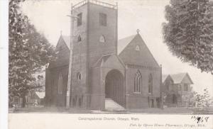 Otsego, Michigan, 1900-1910s; Congregational Church