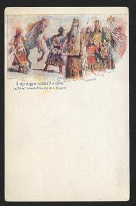 HUNGARY Old Hungarian Religious personages Unused c1896