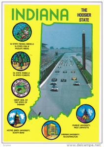 Indiana, The hoosier State, CENTERVILLE, Indiana, 50-70´s