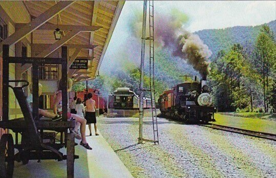 The Old Time Depot Is An Exact Duplicate Topton North Carolina