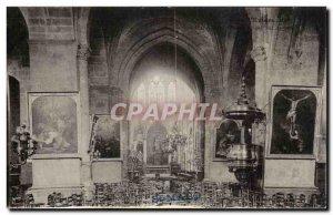 Postcard Old St Malo Church