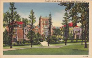 High School , FLUSHING , Long Island , New York ,  30-40s