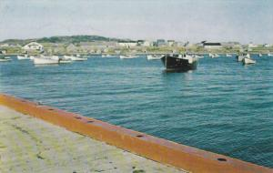 Boats, Anse, Etang-Du-Nord, Iles de la Madeleine, Quebec, Canada, PU-1965