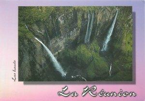 Reunion falls postcard