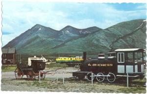 Yukon Transportation Old and New, Carcross, Stagecoach & Duchess Chrome