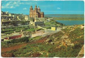 MALTA G.C. Mellieha, 1972 used Postcard