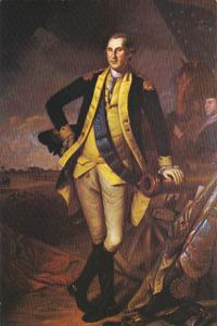 George Washington Painted By Charles Willson Peale 1780