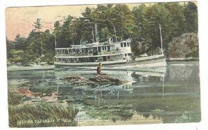 Steamer Nahanada At Hell Gate, PU-1909