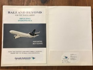 Garuda Indonesia BALI & BEYOND Booklet for the Travel Agent , 2002
