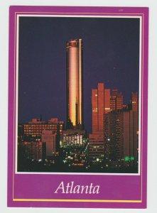 Atlanta Georgia Peachtree Plaza World Tallest Hotel USA Postcard