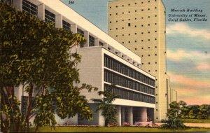 Florida Coral Gables Merrick Building University Of Miami