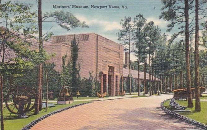 Virginia Newport News Mariners' Museum Curteich