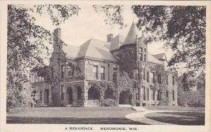 Wisconsin Menomonie A Typical Residence Albertype