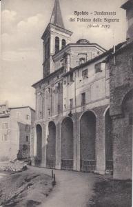 SPOLETO ,  Italy , 00-10s ; Fondamenta del Palazzo della Signoria