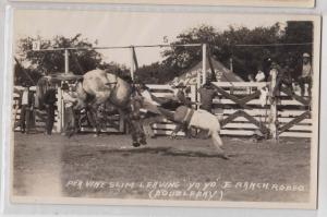 RPPC, Pea Vine Slim Leaving Yo Yo, JE Ranch by Doubleday