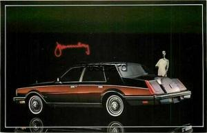Advertising, Lincoln Continental  in Black & Maroon