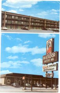 Matador Motor Inn, 99 Spring St, Nashville, Tennessee, TN  1978 Chrome