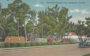 BRADENTON, Florida, 1930-40s ; Trailer Park