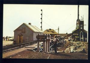 Mount Washington, New Hampshire/NH Postcard, Weather Station, White Mountains