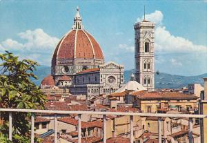 Italy Firenze La Cattedrale in panorama