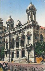 Algeria Postcard Municipal theater building Oran