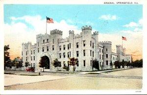 Illinois Springfield The Arsenal 1932 Curteich