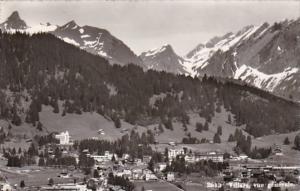 Switzerland Villars vue generale 1958 Photo