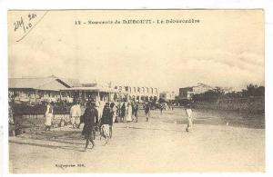 Le Debarcadere, Souvenir de  Djibouti, Africa, 1900-1910s