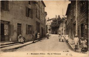 CPA Mornant - Rue de Villeneuve (572541)
