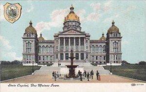 Iowa Des Moines State Capitol