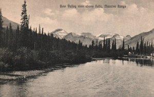 Bow Valley View Above Falls,Massive Range,Banff,Alberta,Canada