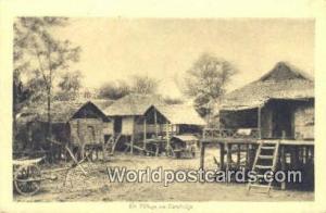 Cambodia, Khmer  Un Villiage