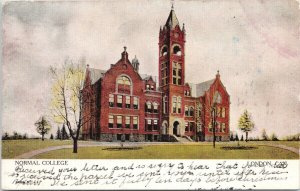 Normal College London Ontario ON Postcard F90