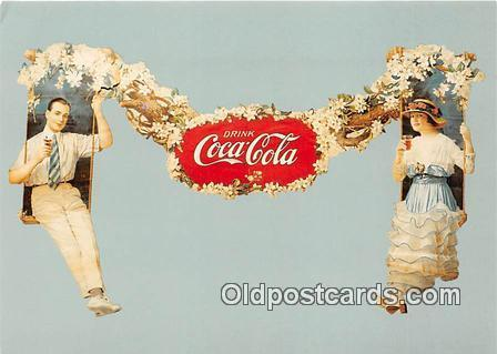 Coca Cola Advertising Post Card Postcard, produced year 1991 Produced 1991 Co...
