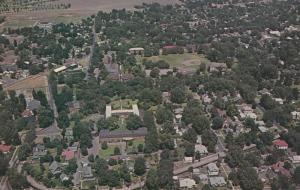 WALLA WALLA, Washington, 1940-60s; Aerial View, Whiman College