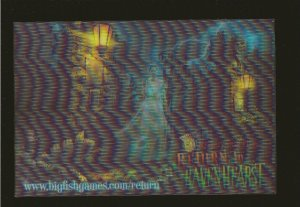 Return to Ravenhearst Big Fish Games Color 3-D Postcard Unposted