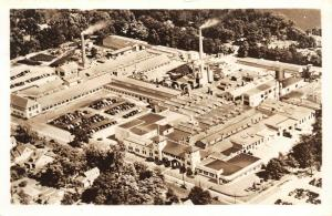 Elkhart IN~RPPC: Aerial View`Conn Band Instruments Factory (Defunct)~c1925 PC
