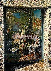 Modern Postcard Chartres Eure et Loir House Picassiette The Salon