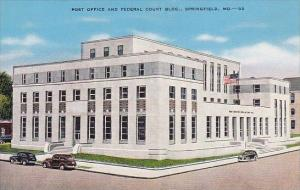 Post Office And Federal Court Building Springfield Missouri