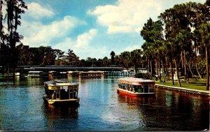 Florida Silver Springs Glass Bottom Boats 1969