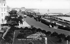 West Drive Clacton on Sea General view Promenade