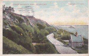 FOLKSTONE, Kent, England, PU-1920; Lower Sandgate Road