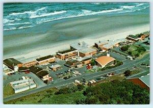 LINCOLN CITY, Oregon OR ~ SURFTIDES BEACH RESORT 1983 Roadside 4 x 6  Postcard